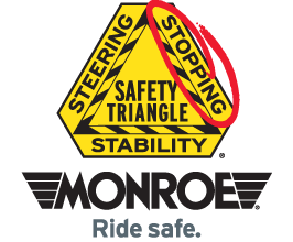MONROE BRAKES®: Safety Triangle