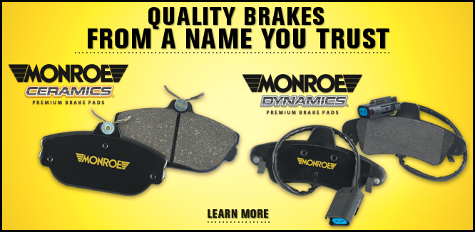 MONROE BRAKES®: Quality Brakes From a Name You Trust