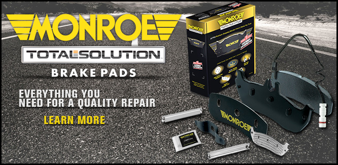 MONROE BRAKES®: The Total Solution®