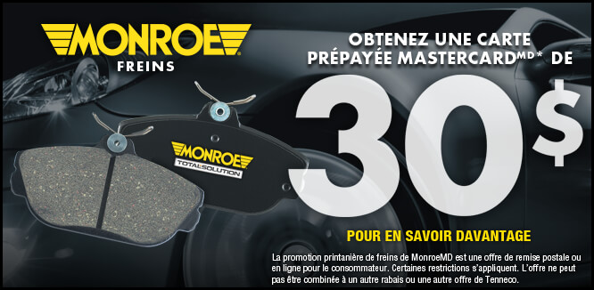 MONROE BRAKES®: Promotions