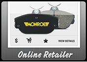 MONROE BRAKES®: Online Retailer