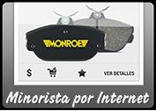 MONROE BRAKES®: Minorista por Internet