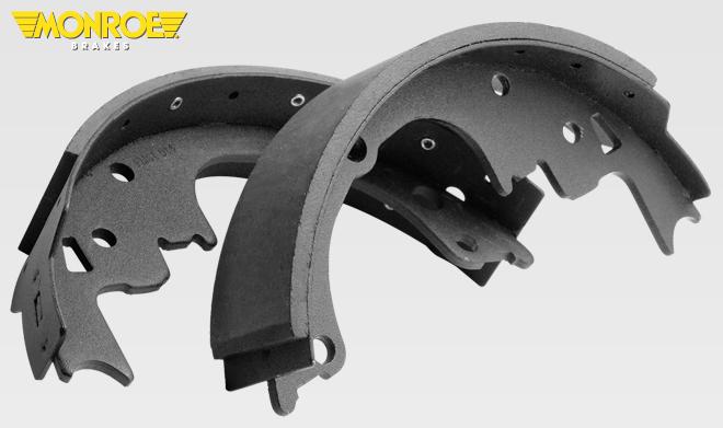 Monroe BX587 Bonded Brake Shoe