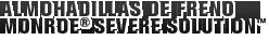 MONROE BRAKES®: ALMOHADILLAS DE FRENO MONROE® SEVERE SOLUTION™