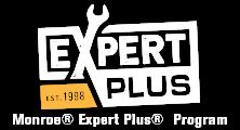 MONROE BRAKES®: Monroe Expert Plus® Program