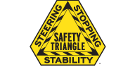 MONROE BRAKES®: SAFETY TRIANGLE™ LOGO