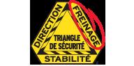 MONROE BRAKES®: LOGO SAFETY TRIANGLE™