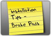 MONROE BRAKES®: Installation Tips - Brake Pads