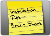 MONROE BRAKES®: Installation Tips - Brake Shoes