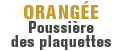 MONROE BRAKES®: ORANGÉE Poussière des plaquettes