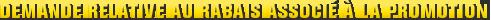 MONROE BRAKES®: Demande relative au rabais associé à la promotion