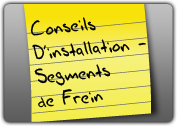 MONROE BRAKES®: Conseils D'installation - Segments de Frein