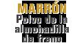 MONROE BRAKES®: MARRÓN Polvo de la almohadilla de freno